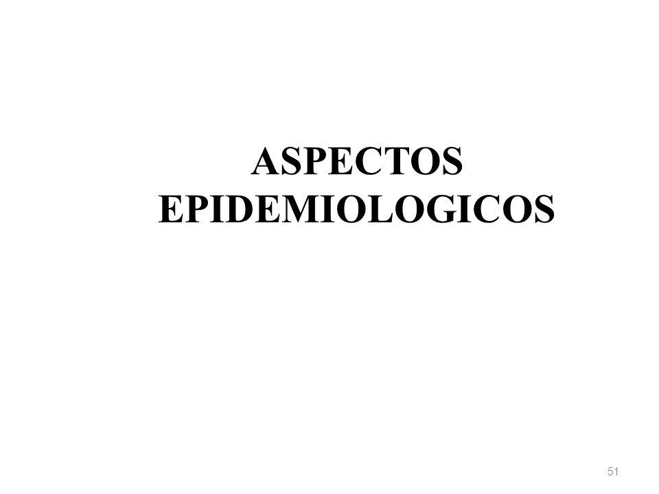 ASPECTOS EPIDEMIOLOGICOS 51