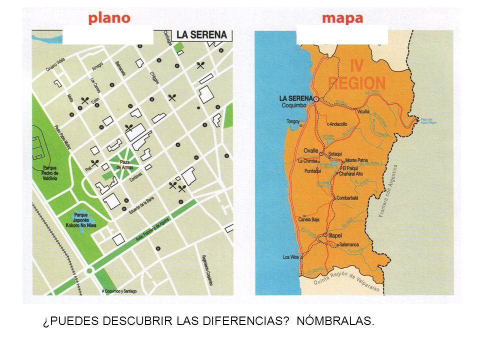 ¿ Qué es esto? ¿Puedes nombrar algunas calles? ¿Y esto qué es? ¿De qué lugar se trata?