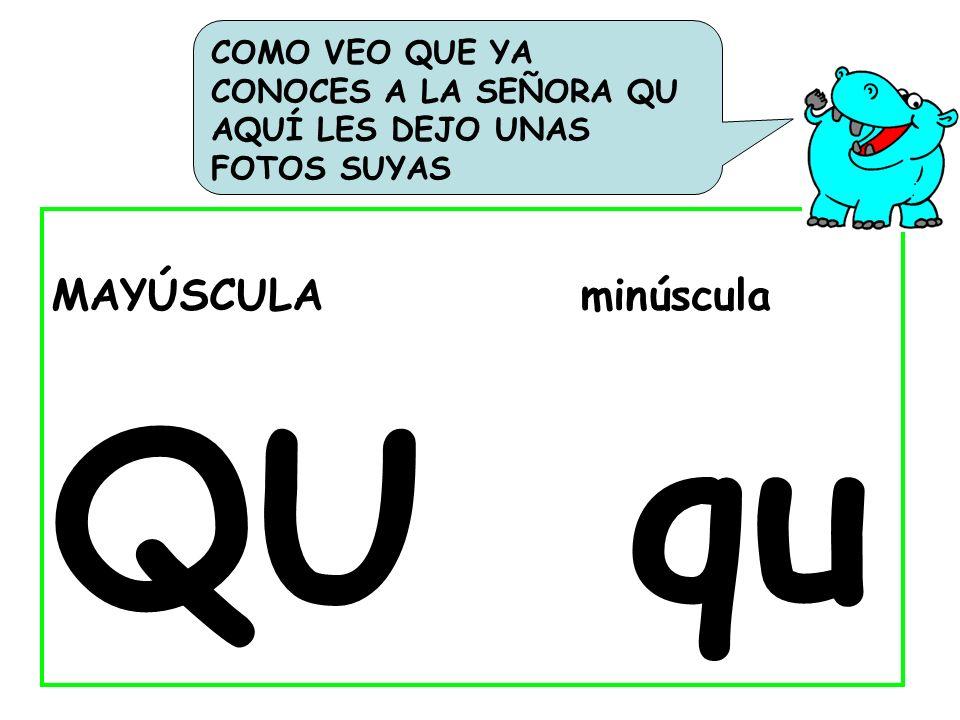 Clasifica las siguientes palabras según tengan o no tengan la letra -q -: Casaqueso cuadro Quijote químicacucaracha mosquito coche quince quierocaimánmoqueta cometapaqueteesquimal