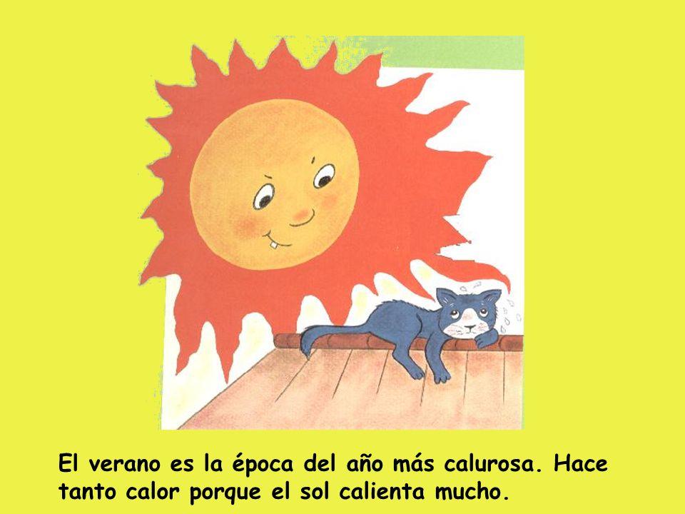 El Verano El verano empieza el 21 de diciembre y termina el 21 de marzo Diciembremarzo