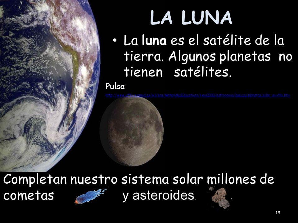 (el planeta de los vientos más fuertes) Tiene 2 satélites que se llaman: Tritón y Nereida. Da una vuelta a sí mismo en 15 h y 48 minutos, y recorrer s