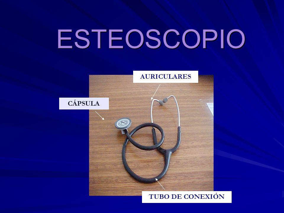 ESTEOSCOPIOESTEOSCOPIO CÁPSULA AURICULARES TUBO DE CONEXIÓN