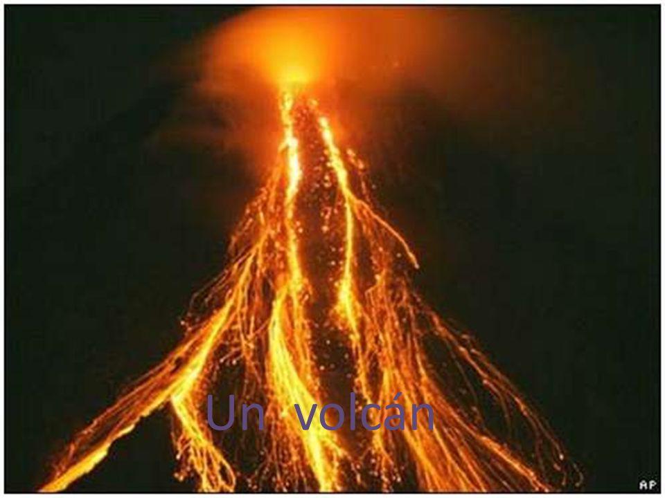 Un volcán