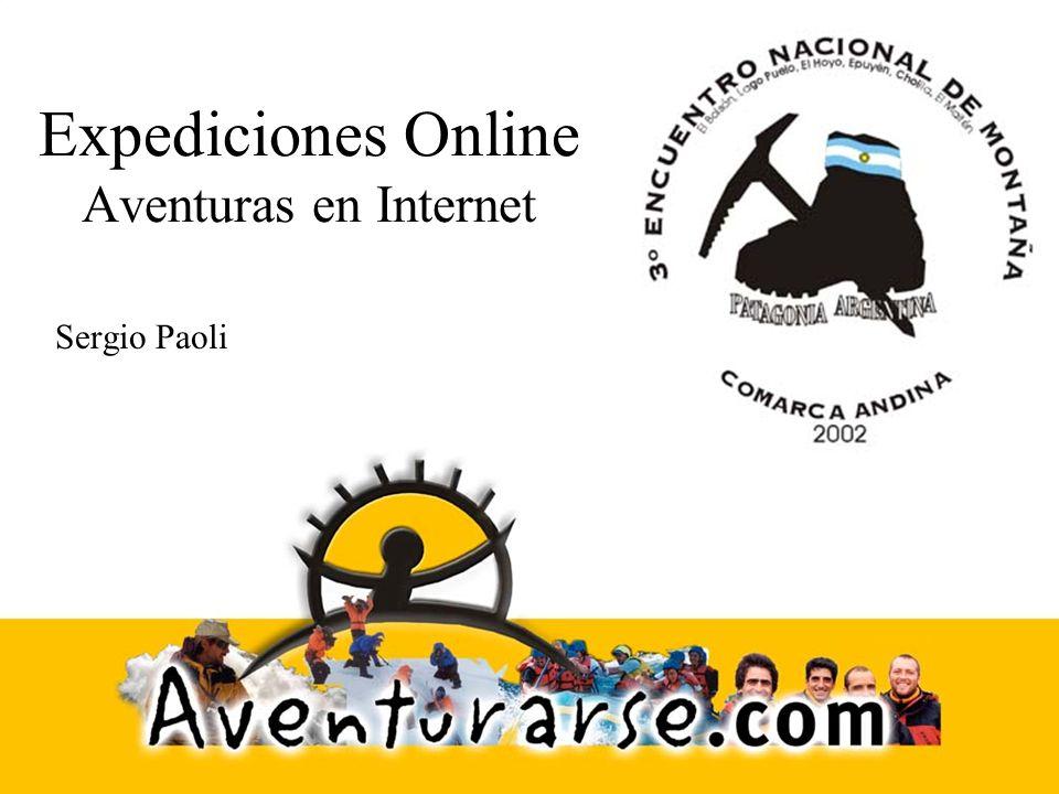 Expediciones Online Aventuras en Internet Sergio Paoli