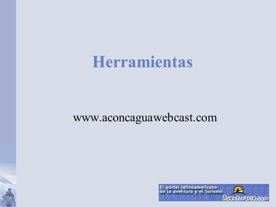 Herramientas www.aconcaguawebcast.com