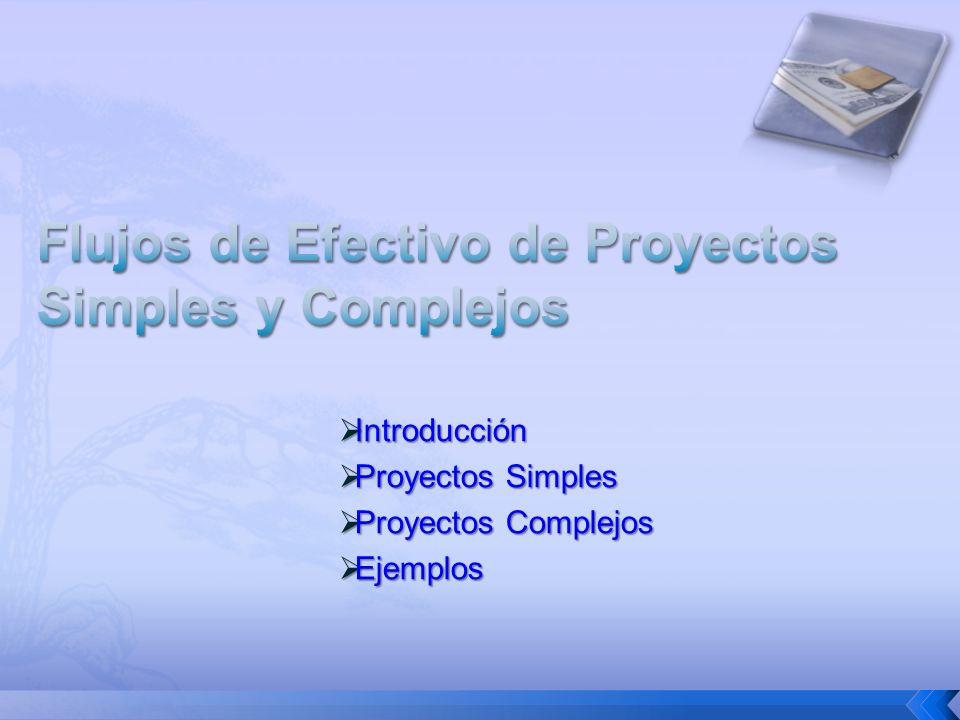 Introducción Introducción Proyectos Simples Proyectos Simples Proyectos Complejos Proyectos Complejos Ejemplos Ejemplos