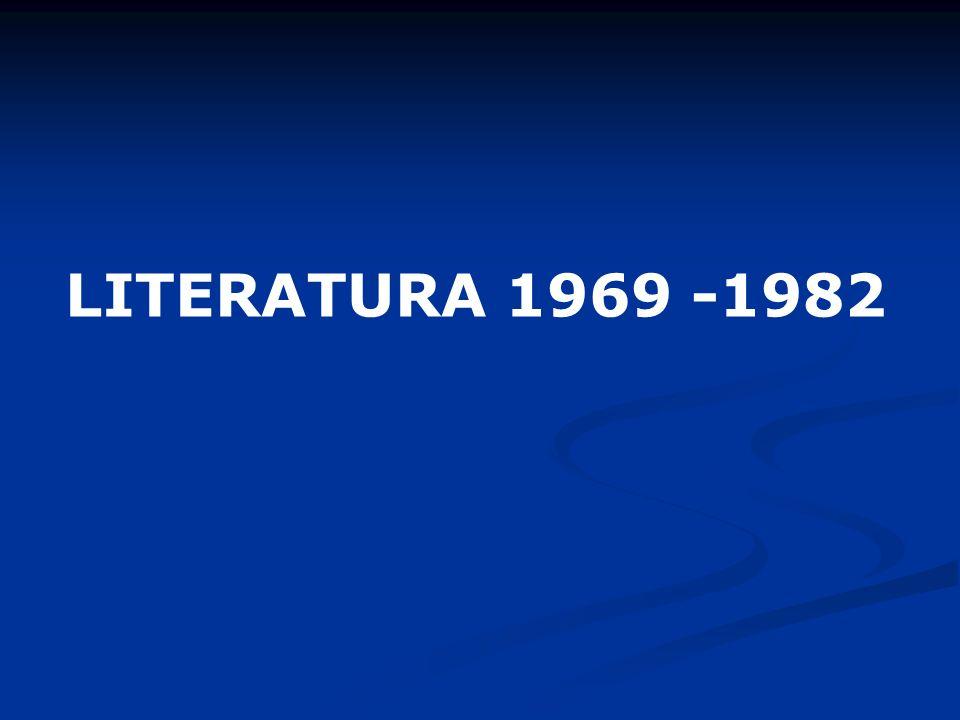 LITERATURA 1969 -1982