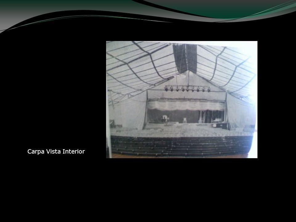 Carpa Vista Interior