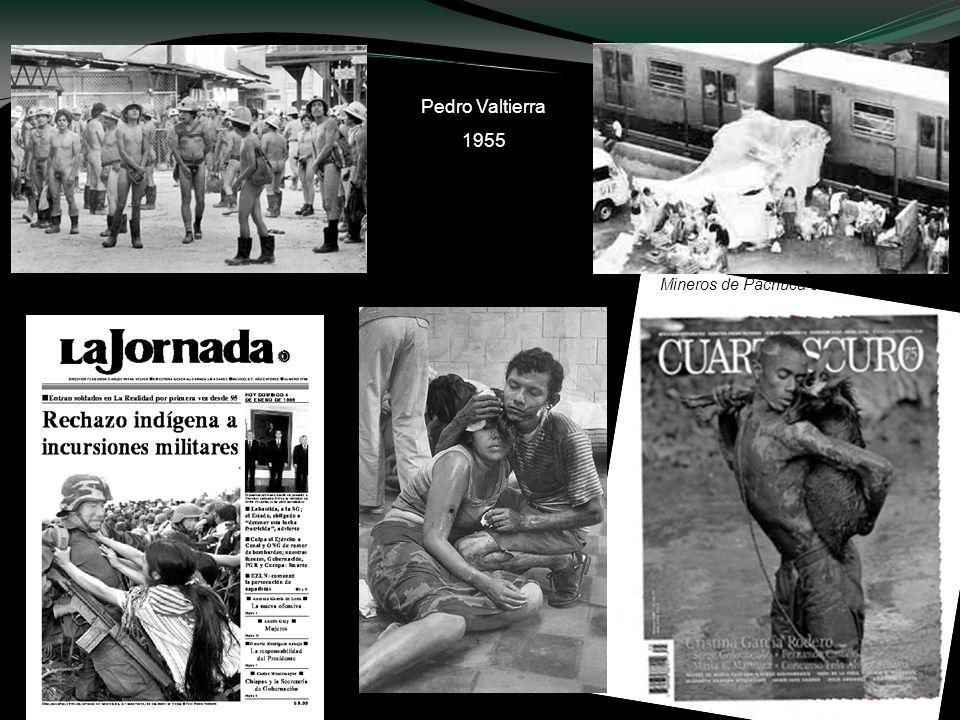 Mineros de Pachuca en huelga en 1985 Temblor de 1985 Pedro Valtierra 1955