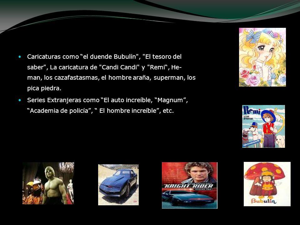 Caricaturas como el duende Bubulín