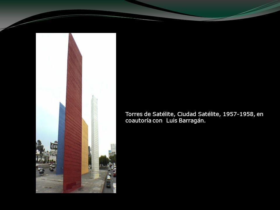 Torres de Satélite, Ciudad Satélite, 1957-1958, en coautoría con Luis Barragán.