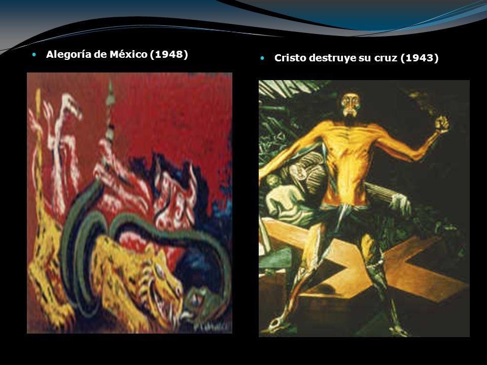 Alegoría de México (1948) Cristo destruye su cruz (1943)