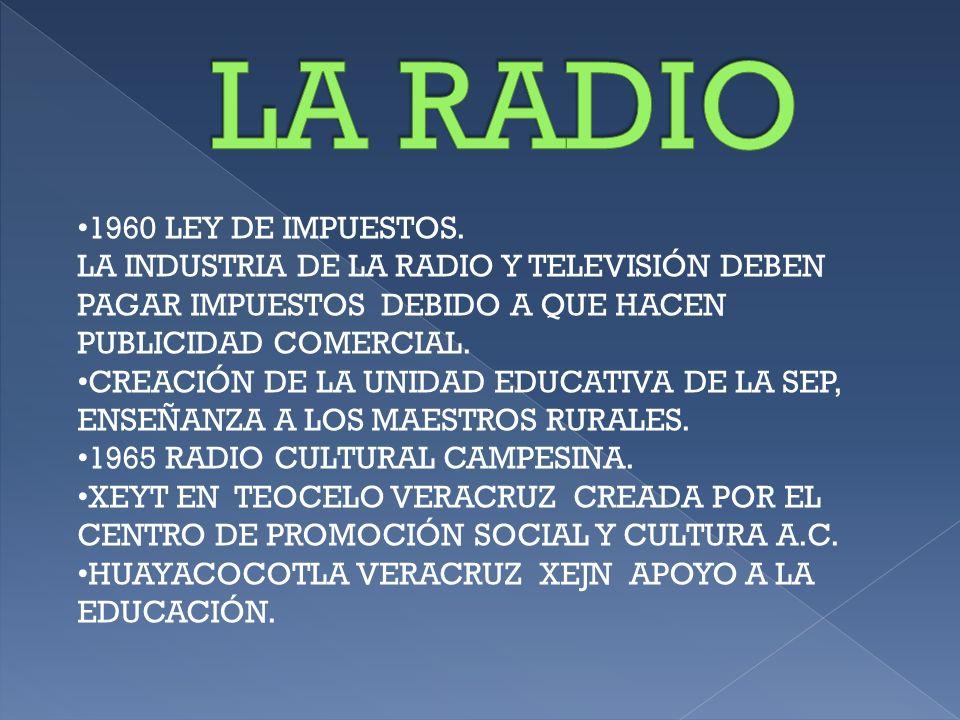 1968 XEEP RADIO EDUCACIÓN. DEPENDE DE LA SECRETARÍA DE EDUCACIÓN PÚBLICA. 1924CZE 1930 XFX