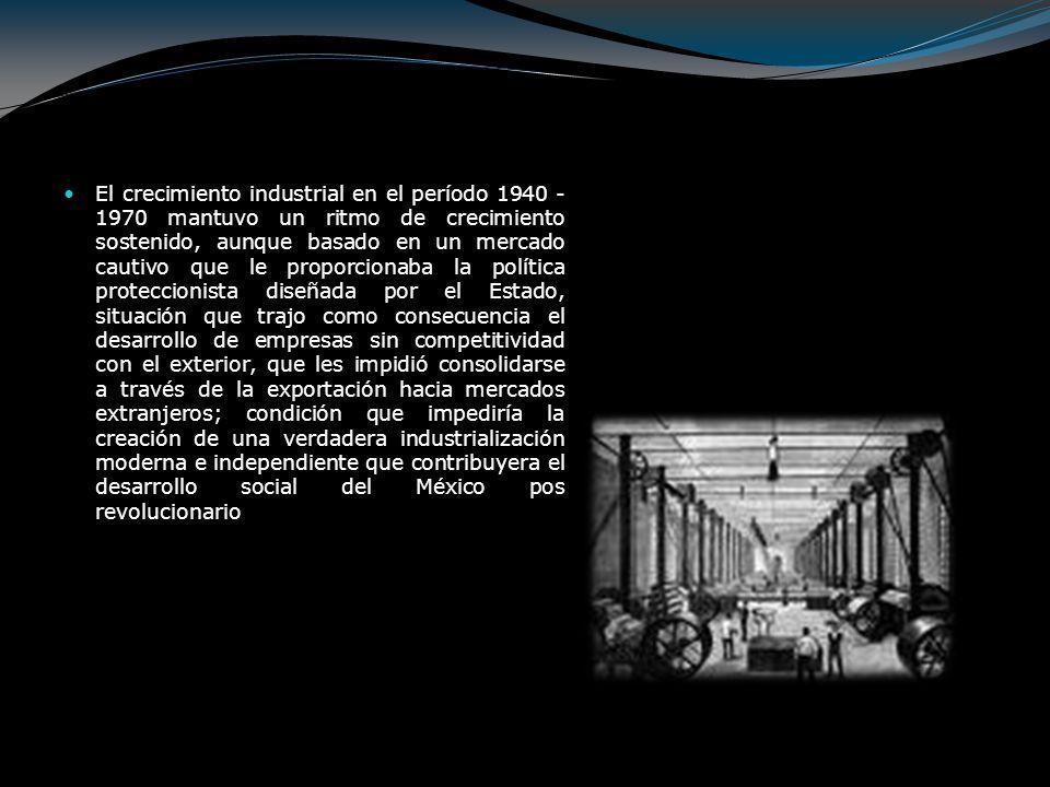 Etapa Civilista Del Poder (1940-1952) SECTOR PRIMARIO: En lo referente a lo agrario, se continuaría apoyando al ejido colectivo, pero al mismo tiempo se prometía que se habría de definir claramente el estatuto de la pequeña propiedad.
