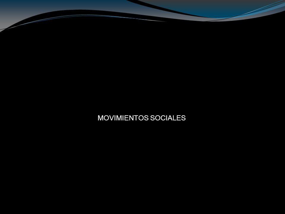 Un Movimiento Social es la agrupación no formal de individuos u organizaciones dedicadas a cuestiones político- sociales que tiene como finalidad el cambio social.