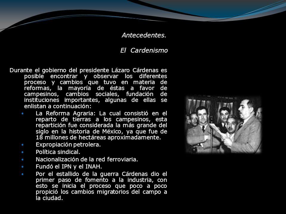 Candidatos presidenciales Juan Andreu Almazán Francisco Mújica Gildardo Magaña Manuel Ávila Camacho *Todos generales*