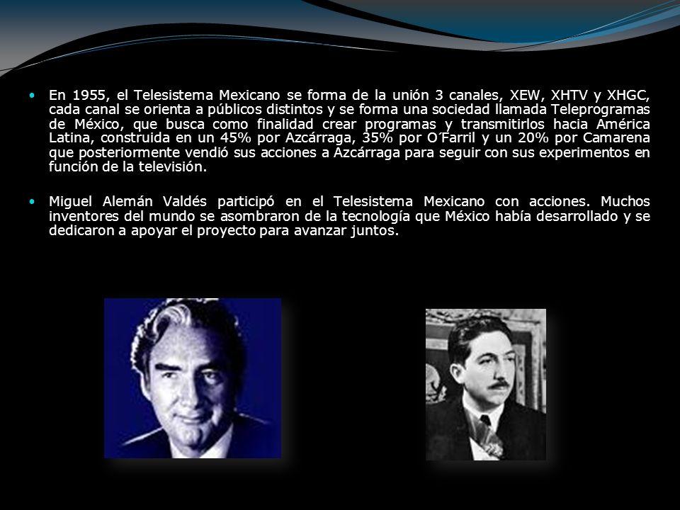 Septiembre 1948: Las transmisiones del ingeniero González Camarena se trasladan al palacio de Minería, con la emisión del programa Primera exposición objetiva presidencial.