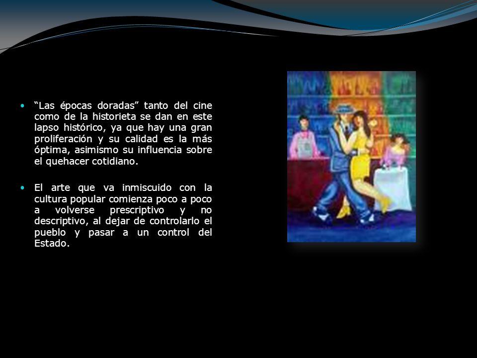 Historietas.En 1934 aparecen en México las primeras revistas de historietas como tales.
