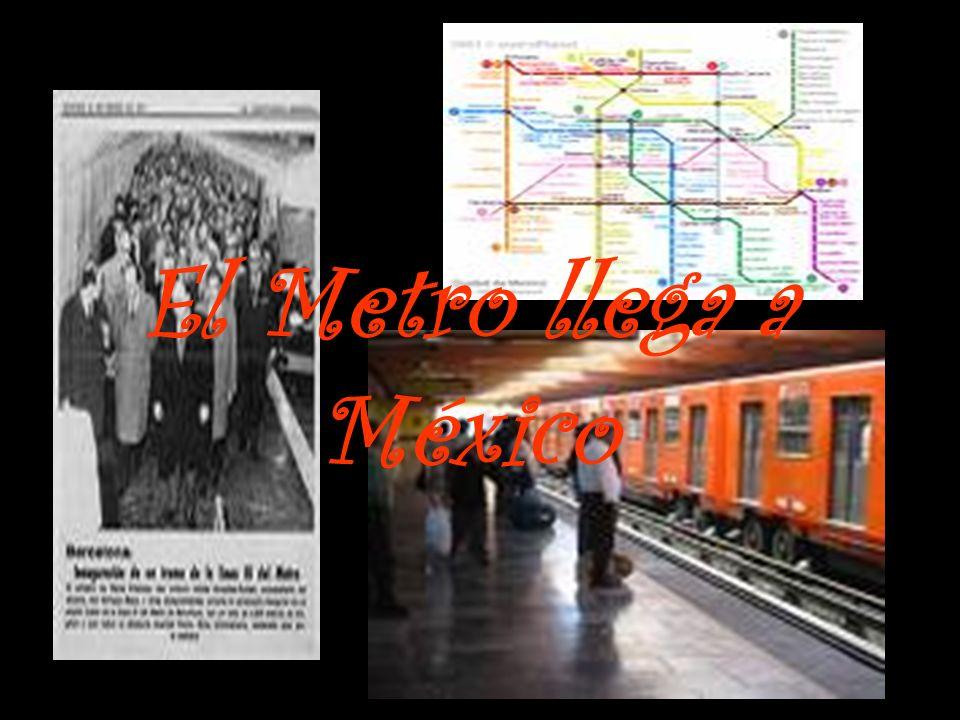 El Metro llega a México