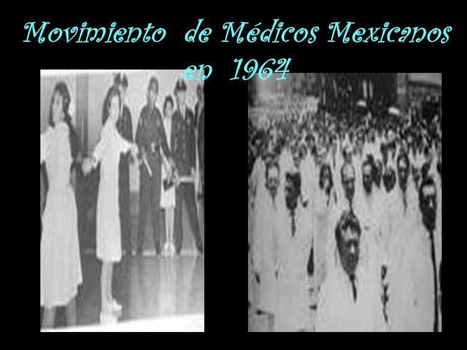 Movimiento de Médicos Mexicanos en 1964