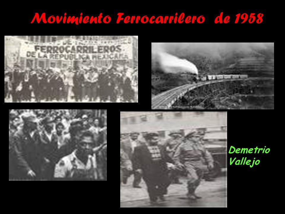 Movimiento Ferrocarrilero de 1958 Demetrio Vallejo