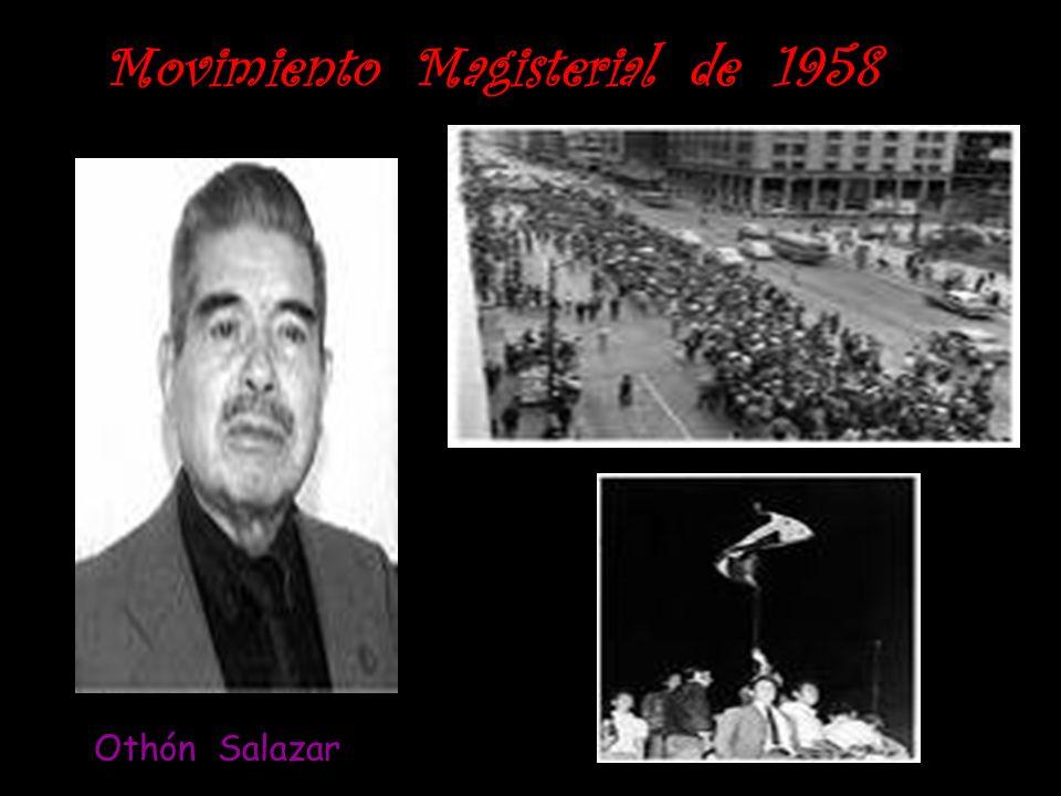 Movimiento Magisterial de 1958 Othón Salazar