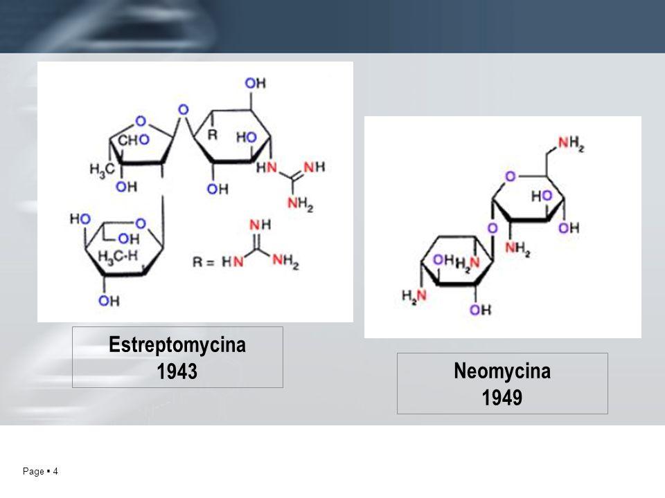 Page 4 Neomycina 1949 Estreptomycina 1943