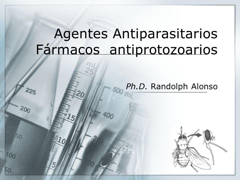 Agentes Antiparasitarios Fármacos antiprotozoarios Ph.D. Randolph Alonso