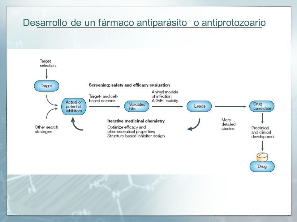 Desarrollo de un fármaco antiparásito o antiprotozoario