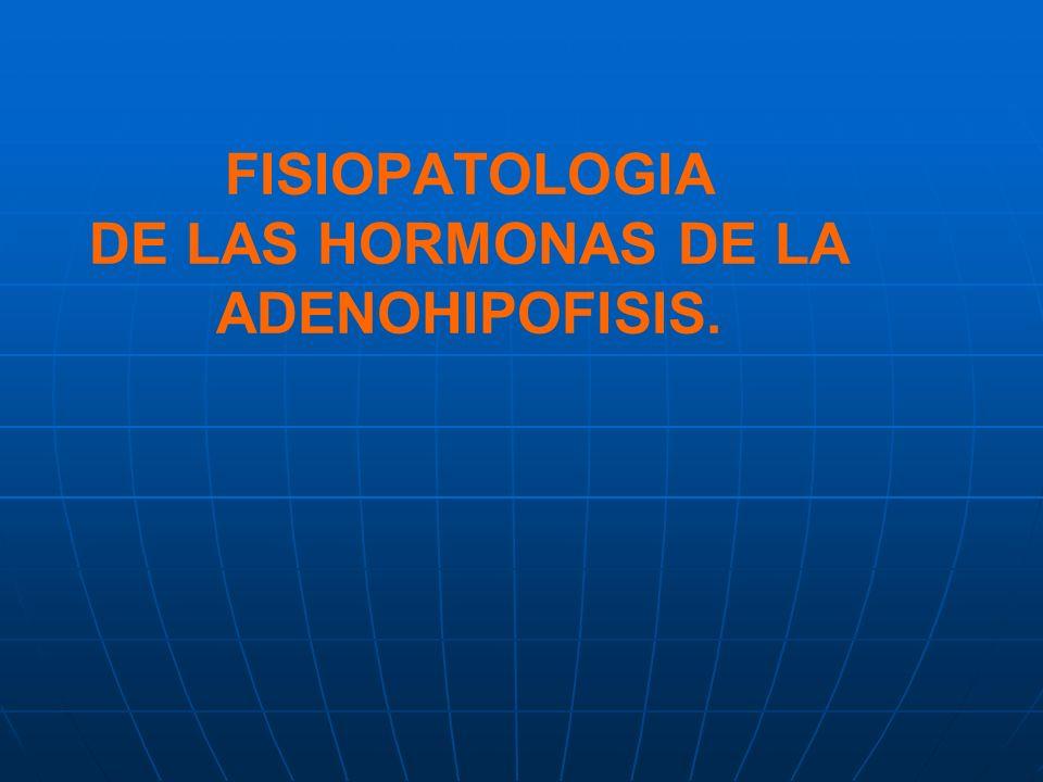 Mecanismos fundamentales de los trastornos HIPERFUNCION: exceso o HIPOFUNCION: deficiencia Ambos son consecuencia de alguno de los siguientes trastornos: (1) Trastorno primario de secreción endocrina, p.ej.