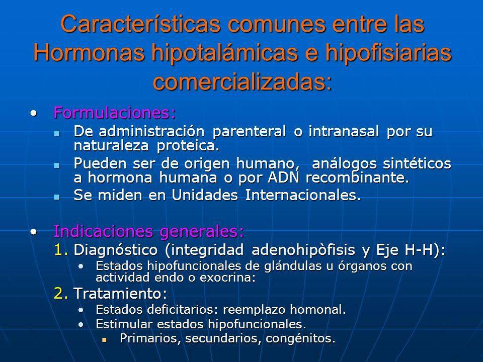 - OCTREOTIDO (SANDOSTATIN ®): Selectivo y mayor potencia que somatostatina.