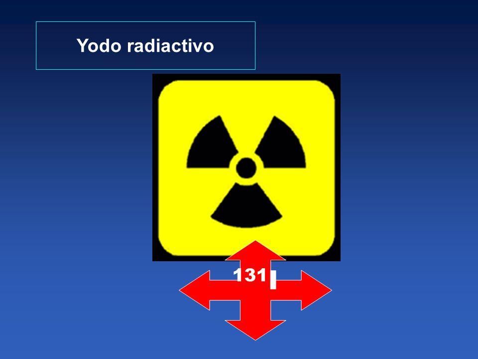 Yodo radiactivo 131 I