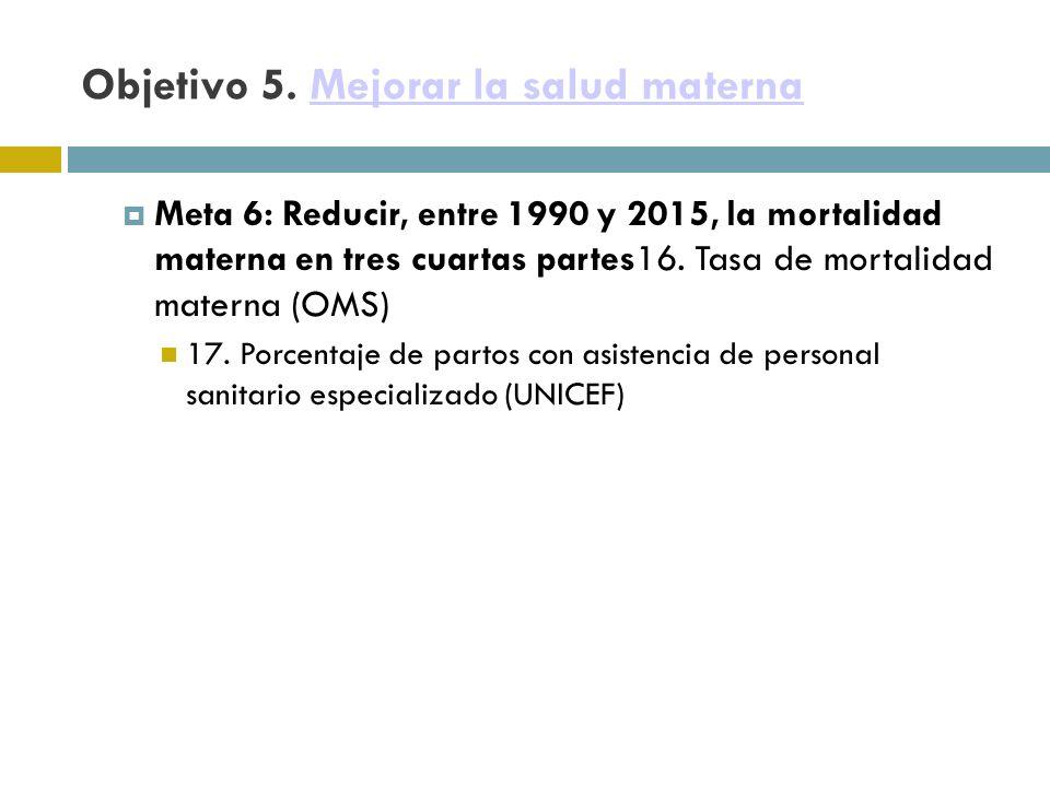 Objetivo 5.