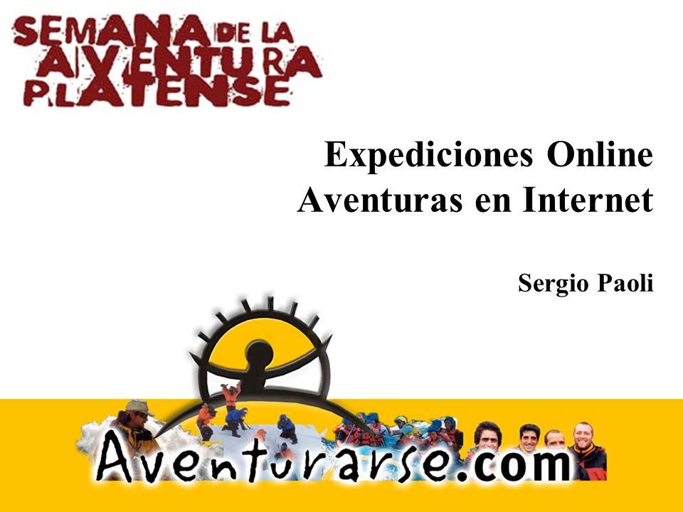 Ciclo de Vida Post-Expedición Cuando se completa la expedición el sitio queda como una historia de lo ocurrido.
