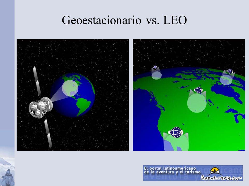 Geoestacionario vs. LEO