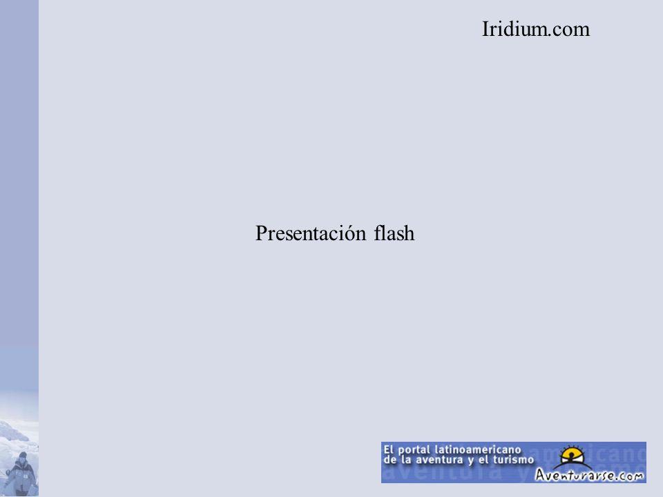 Presentación flash