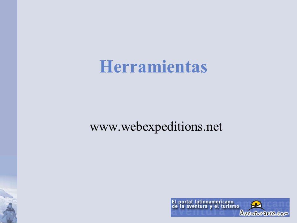 Herramientas www.webexpeditions.net