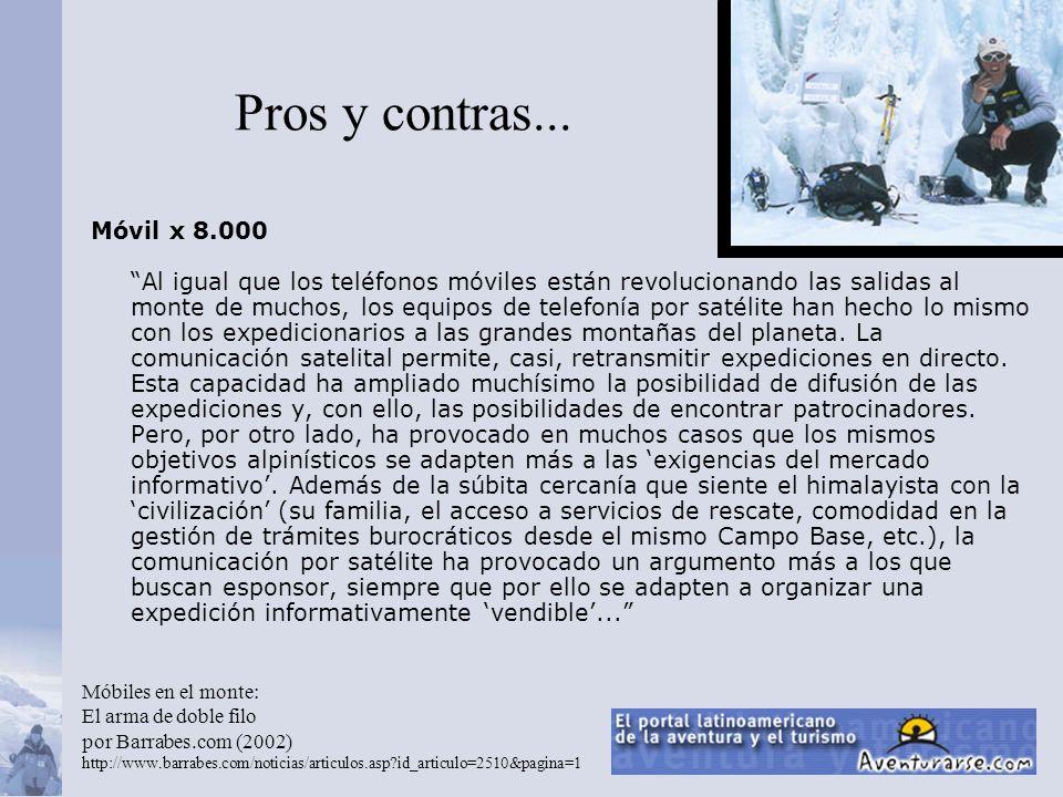 Al Filo de lo Impiosible www.terra.es/alfilo/