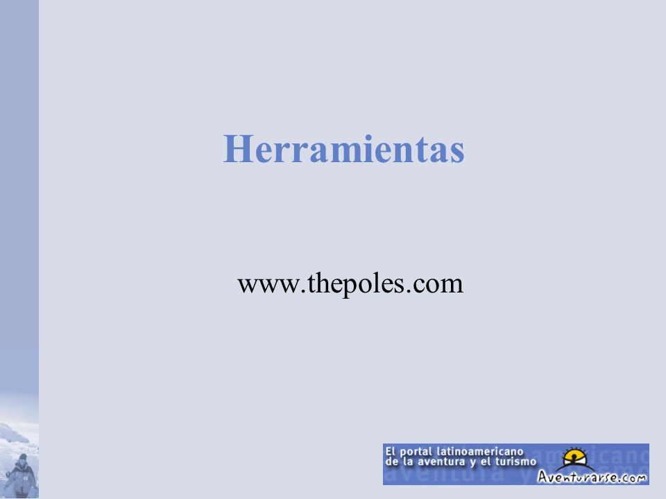 Herramientas www.thepoles.com