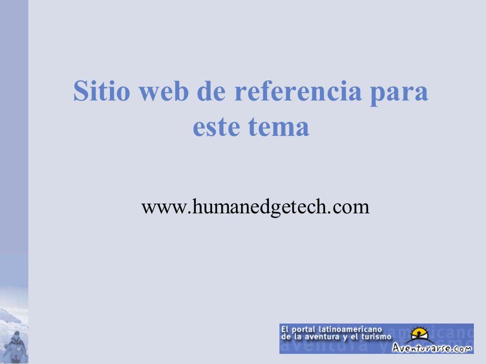 Sitio web de referencia para este tema www.humanedgetech.com