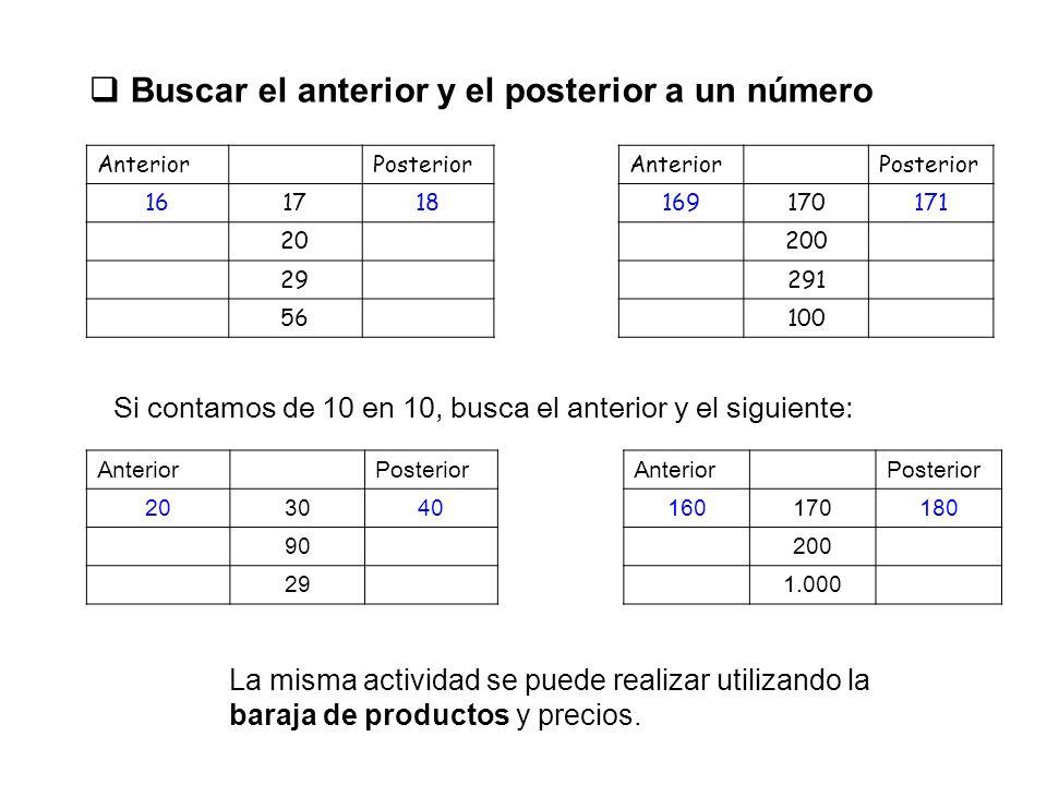 NUMERACIÓN Y TRATAMIENTO DE LA INFORMACIÓN Recoge la información de cada producto del escaparate, ordenados de menor a mayor, en estas tablas: Nombre del objetoPrecio con númerosPrecio con letras Zumo2 dos