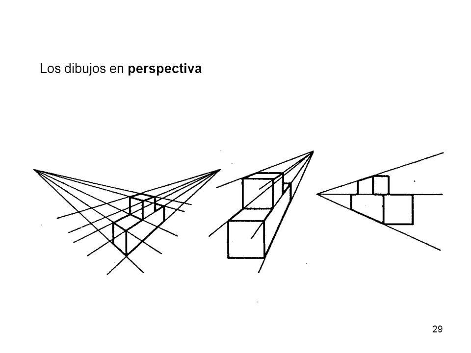 29 Los dibujos en perspectiva