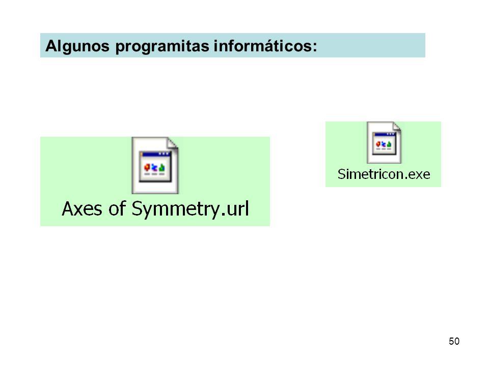 50 Algunos programitas informáticos: