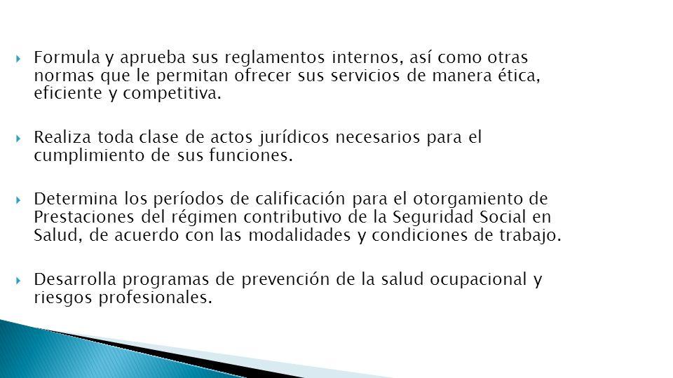 Dicta disposiciones relacionadas con las obligaciones de las entidades empleadoras y sus asegurados.