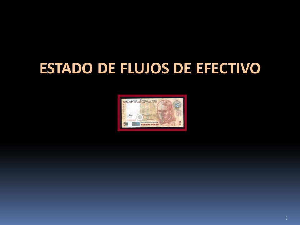 ESTADO DE FLUJOS DE EFECTIVO 1