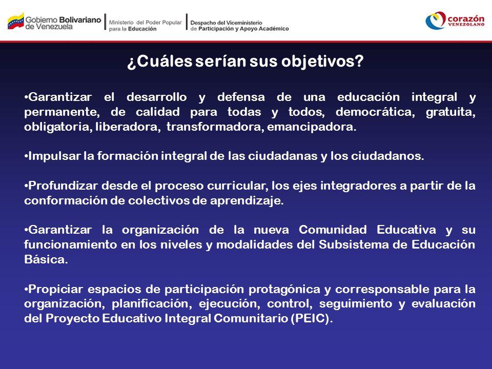 Garantizar el desarrollo y defensa de una educación integral y permanente, de calidad para todas y todos, democrática, gratuita, obligatoria, liberado