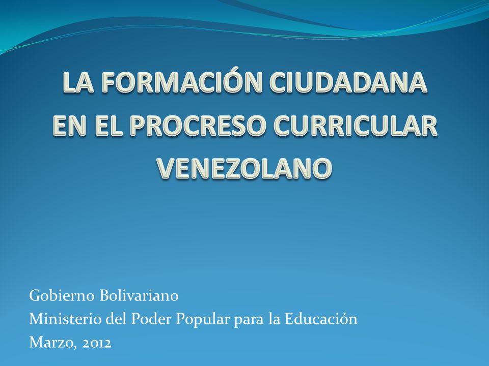 La Educación en Venezuela se concibe como un espacio para el desarrollo de concepciones sociales, ambientales y económicas alternativas actualmente.
