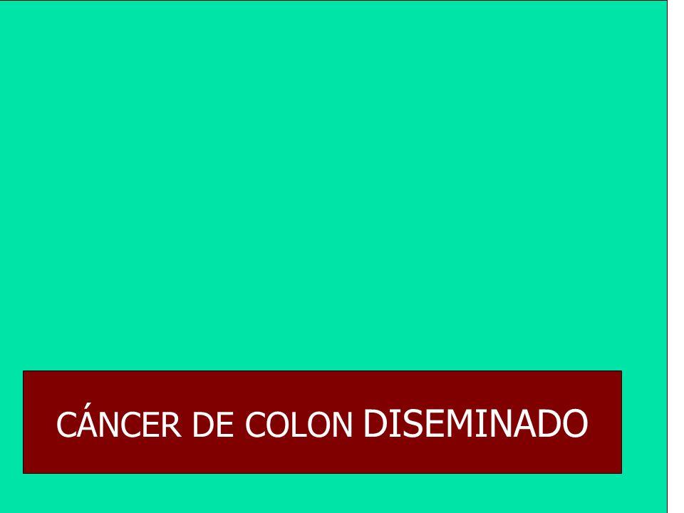 CÁNCER DE COLON DISEMINADO