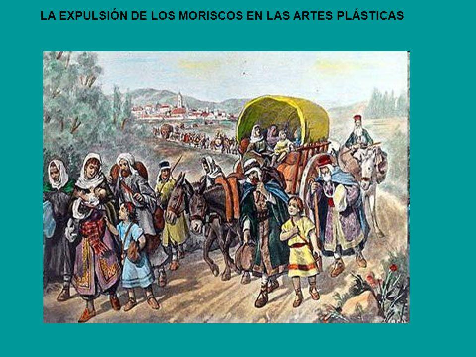 Moriscos en Orán – Detalle - La mayor parte de los moros del reino de Valencia fueron desembarcados en el paraje de Orán para ir a Fes y Marruecos.