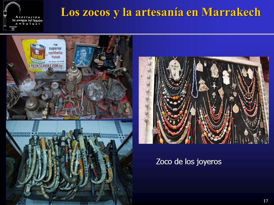 17 Los zocos y la artesanía en Marrakech Zoco de los joyeros